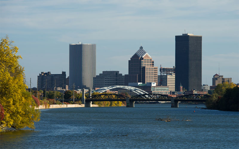 City of Rochester Skyline