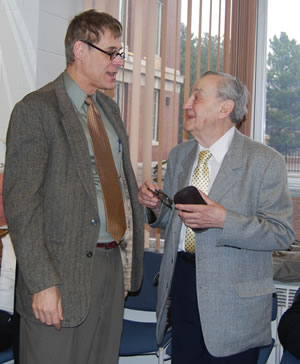 Profs. Boyd (left) and Wolf (right)