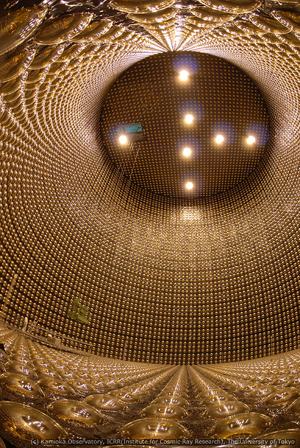 inside the detector