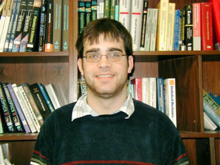 Daniel Linford, 2007-2008 President of UR SPS chapter